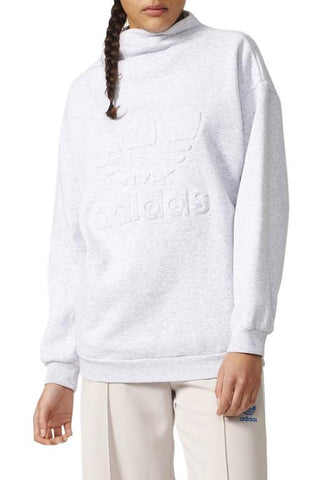 ADIDAS - SWEATSHIRT WMN LIGHT GREY 30664