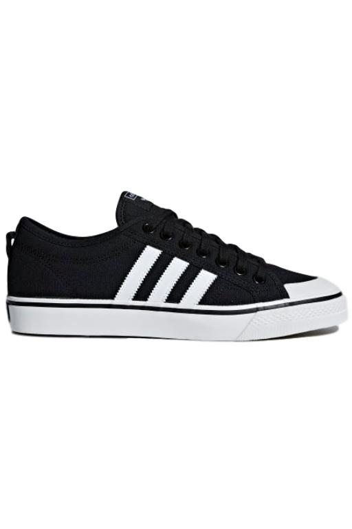 ADIDAS - NIZZA BLACK/WHITE 33514