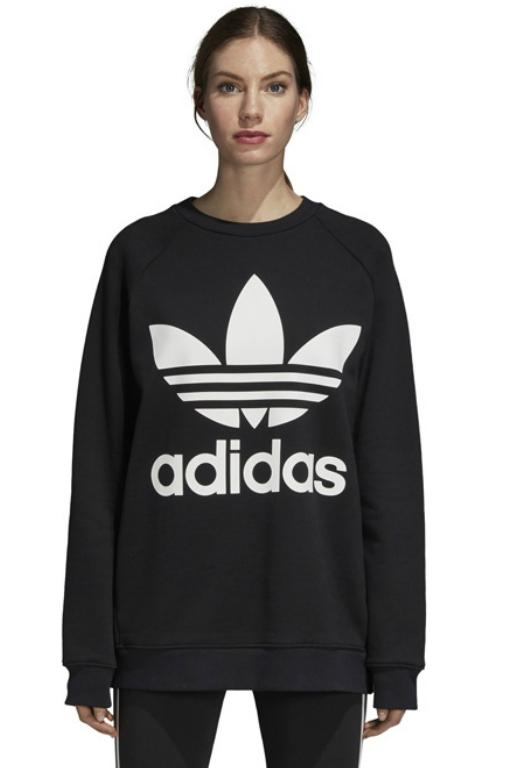 ADIDAS - OVERSIZED SWEAT BLACK 33772