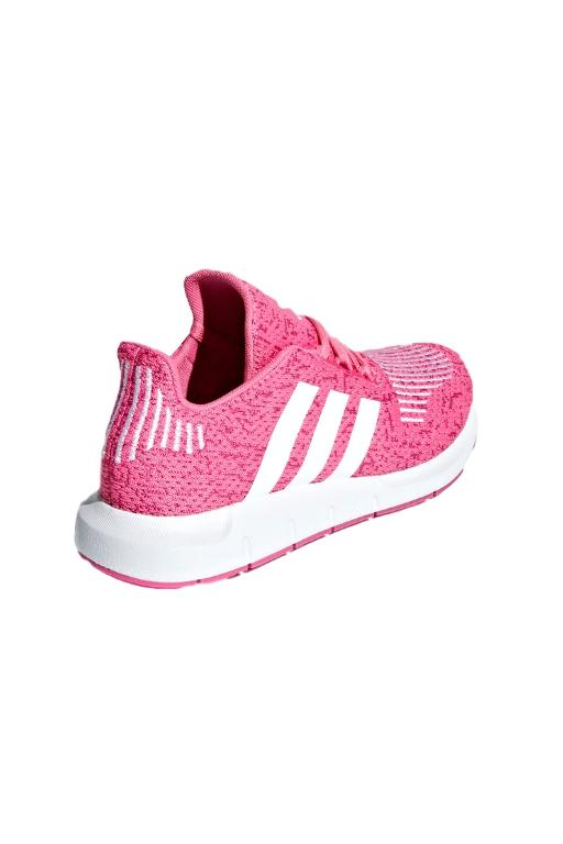 ADIDAS - SWIFT RUN JUNIOR SEMISONIC PINK/WHITE 33793