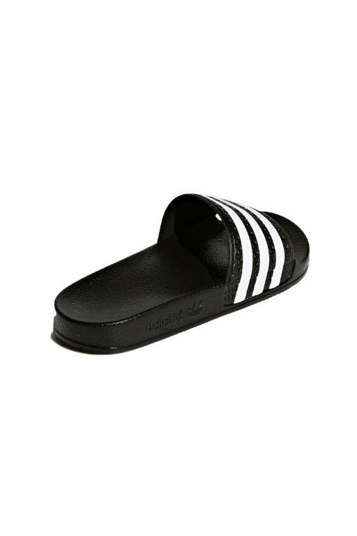 ADIDAS - ADILETTE JUNIOR BLACK/WHITE (CBKFT) 34331