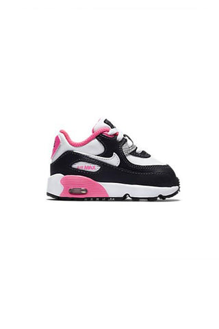 NIKE - AIR MAX 90 LTR (TODDLER) ANTHRACITE/WHITE-HYPER PINK 30022