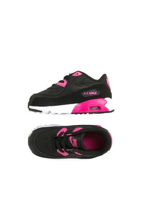 NIKE - AIR MAX 90 LTR (TODDLER) BLACK/PINK 30022