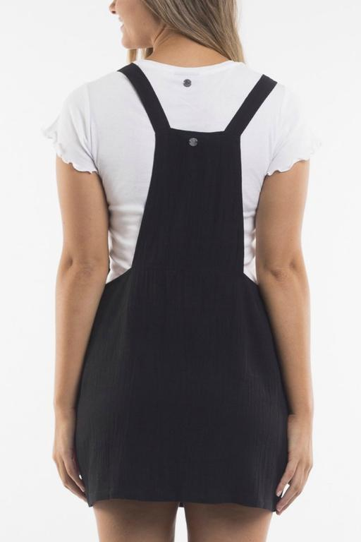 ALL ABOUT EVE - ALBA PINAFORE BLACK 34784