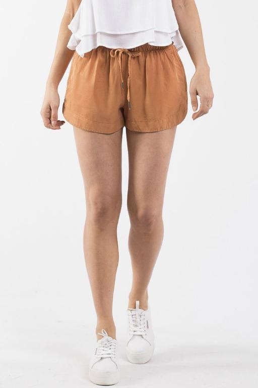 ALL ABOUT EVE - KARSHA SHORT BRONZE (RUST) 33505