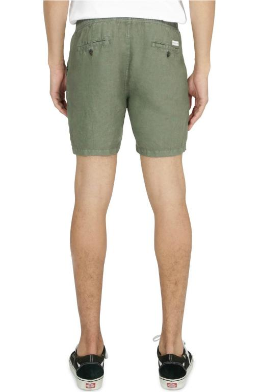 ARTICLE No. 1 - SLATER LINEN SHORTS ARMY 33557