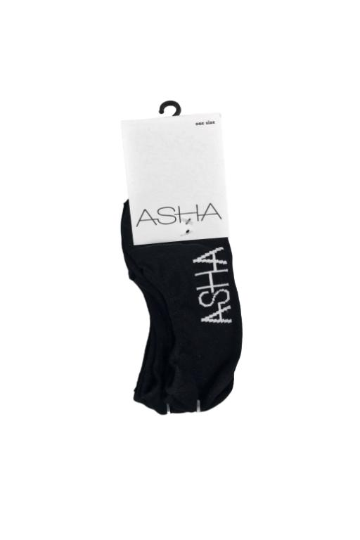 ASHA - MULTI 3 PACK SOCKS BLACK 30618