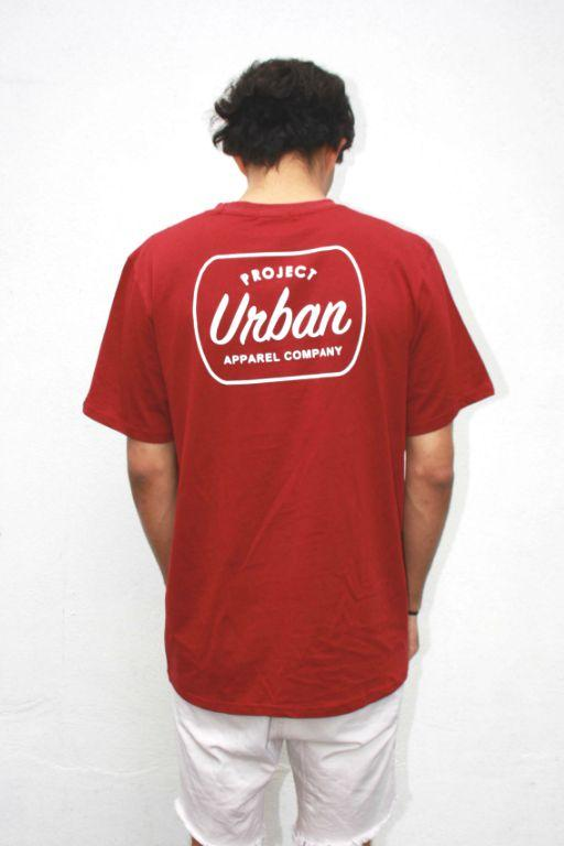 PROJECT URBAN - BLAKE TEE WINE 32538