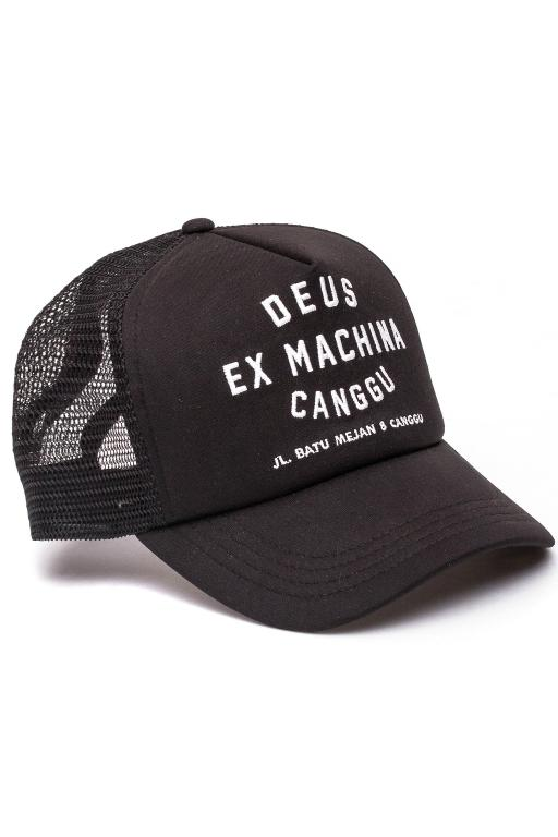 DEUS - CANGGU ADDRESS TRUCKER BLACK 25549