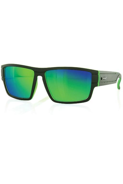 CARVE - SUBLIME SUNGLASSES MATTE BLACK/GREEN 25810