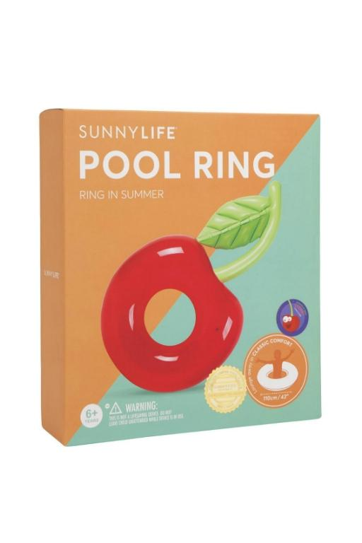SUNNYLIFE - CHERRY POOL RING 32552