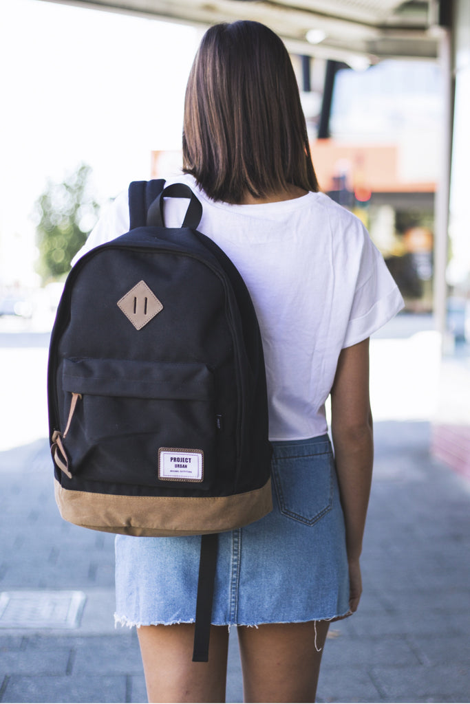 PROJECT URBAN - COLONIAL BACKPACK BLACK 31504