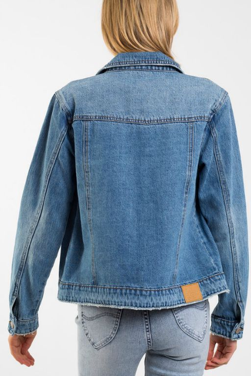 ALL ABOUT EVE - MAZIE DENIM JACKET 34914