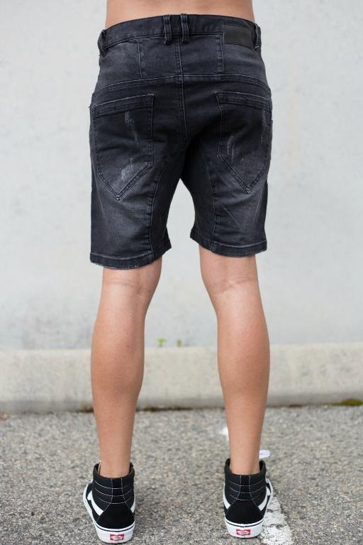 NENA AND PASADENA - FLIGHT DENIM SHORT BBLACK 33930