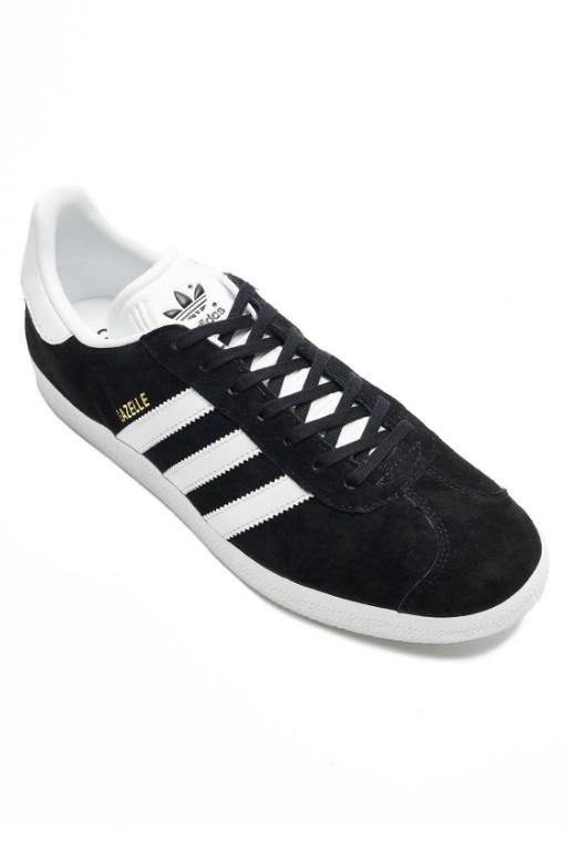 ADIDAS - GAZELLE BLACK/WHITE/GOLD 32009