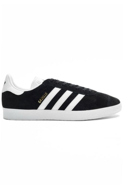 ADIDAS - GAZELLE BLACK/WHITE/GOLD 30637
