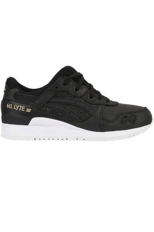 ASICS - WOMENS GEL LYTE 3 BLACK/BLACK 31613