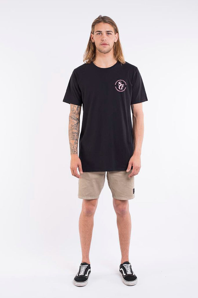ST GOLIATH - ACCLAIM TEE BLACK 32277