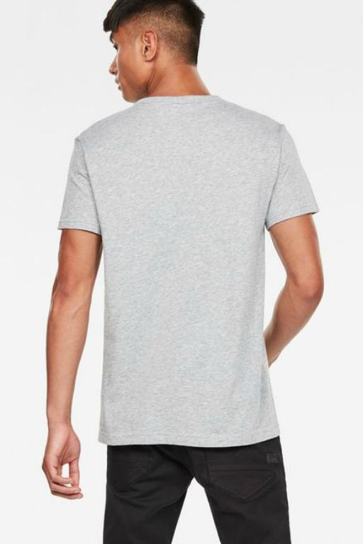 G-STAR - GRAPHIC 10 R T TEE GREY 33739