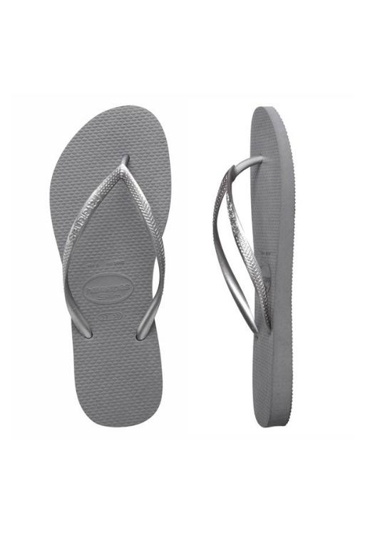 HAVAIANAS - SLIM METALLIC STEEL GREY 30971