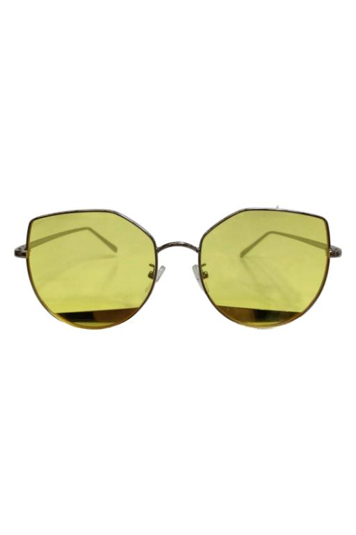 ASHA - YELLOW HAZE SUNGLASSES YELLOW 32448