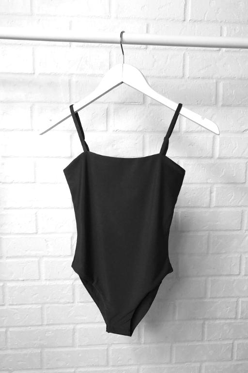 ASHA - HEAVENLY BODYSUIT CHARCOAL 33688
