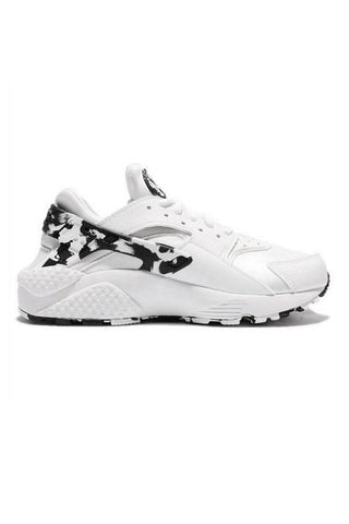 NIKE - WOMENS AIR HUARACHE RUN SE WHITE/BLACK-WHITE 30037
