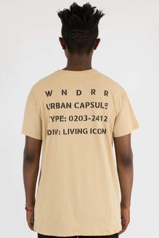WNDRR - ICON CUSTOM FIT TEE TAN 34290