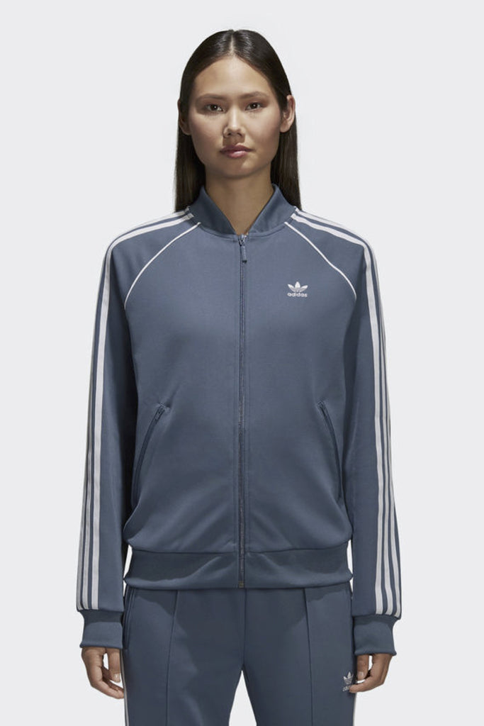 ADIDAS - SST TRACK JACKET DARK STEEL 33115