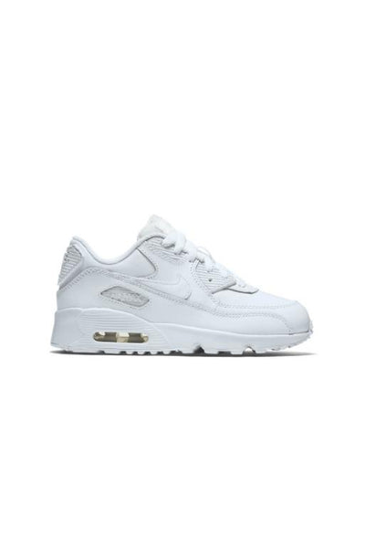 NIKE - AIR MAX 90 LEATHER (PS) WHITE/WHITE 31571
