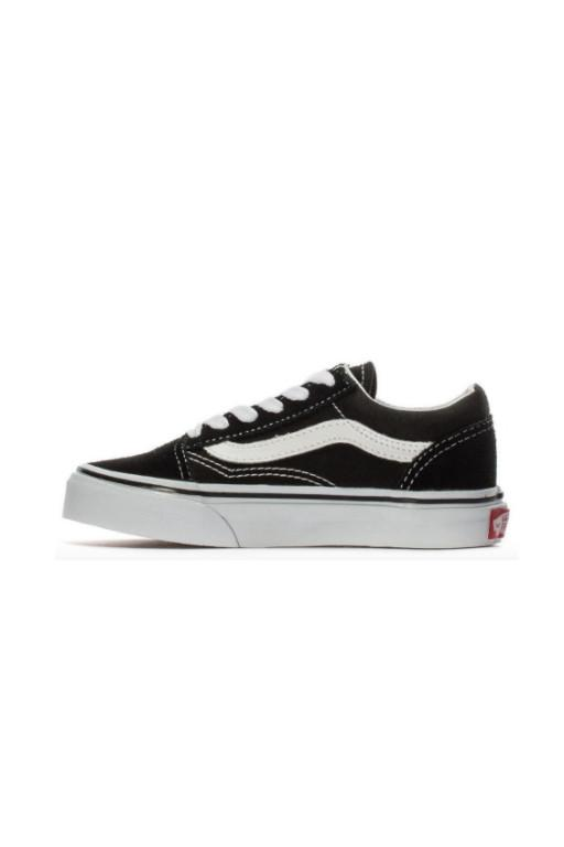 VANS - OLD SKOOL KIDS BLACK/TRUE WHITE 31953
