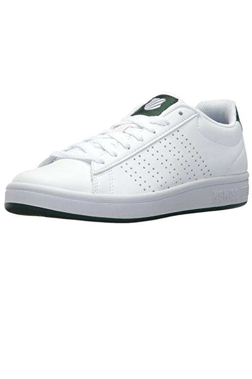 K-SWISS - COURT CASPER WHITE/GREEN 33495