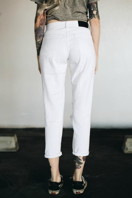 TOKYO JOE DENIM CO - MY BOYFRIENDS JEANS WHITE 32100