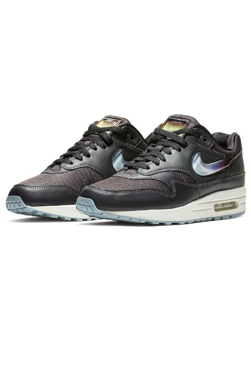 NIKE - WOMENS AIR MAX 1 JP OIL GREY/OBSIDIAN MIST (OILGR) 34141