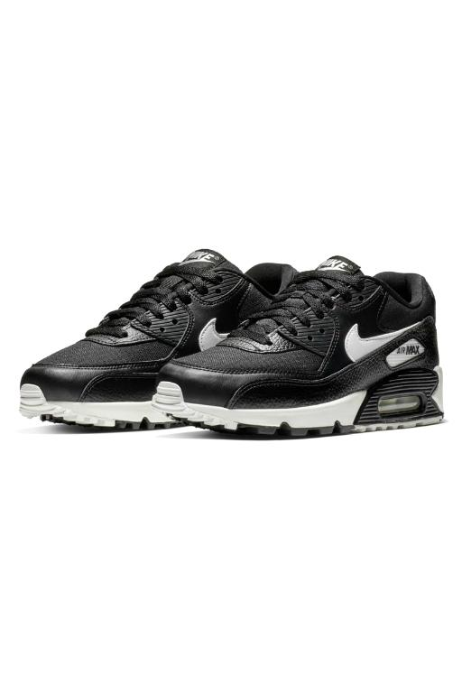 NIKE - WMNS AIR MAX 90 LIGHT BLACK/SUMMIT WHITE (BKSWB) 33702