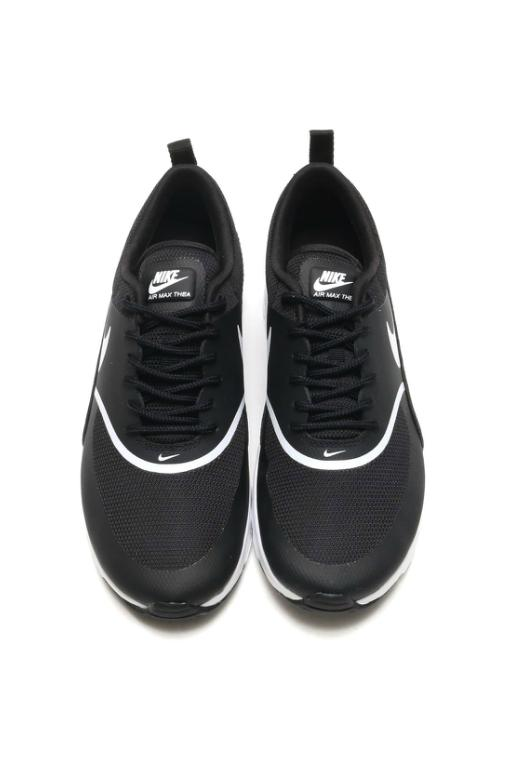 NIKE - AIR MAX THEA BLACK/WHITE 24883