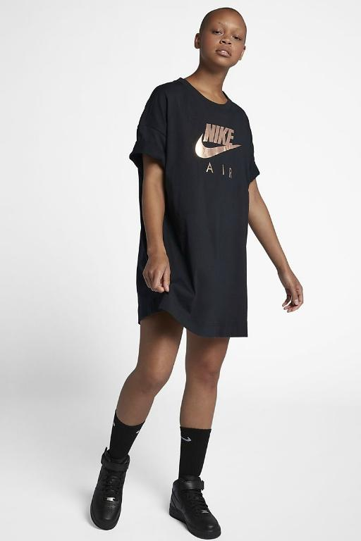 NIKE - SPORTSWEAR DRESS BLACK/ROSE 33686