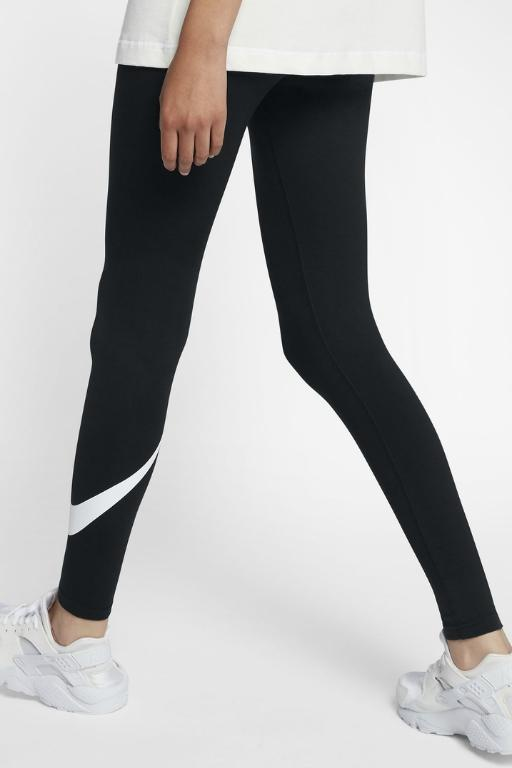 NIKE - SPORTSWEAR LEGGINGS BLACK/WHITE 33527