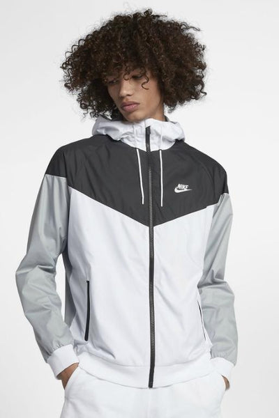 NIKE - WINDRUNNER WHITE/BLACK/GREY 28503