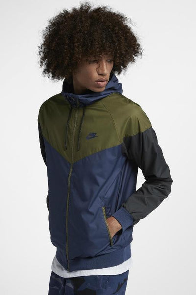 NIKE - WINDRUNNER MIDNIGHT NAVY/OLIVE 28503