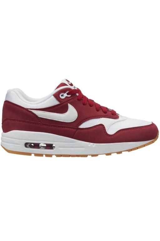 NIKE - WOMENS AIR MAX 1 RED CRUSH/WHITE 8491
