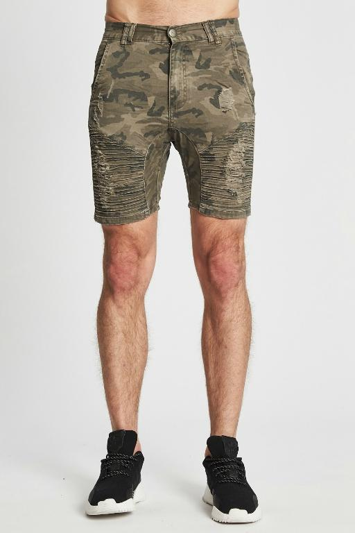 NENA AND PASADENA - DESTROYER SHORT CAMO 33339