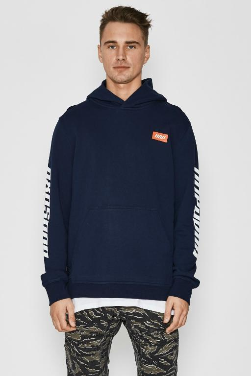 NENA AND PASADENA - SUPREME HOODED SWEAT INDIGO 33523