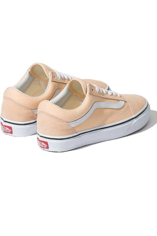 VANS - OLD SKOOL BLEACHED APRICOT/TRUE WHITE 33716