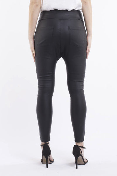 JORGE - PRECISION DROP CROTCH PANT BLACK 33027