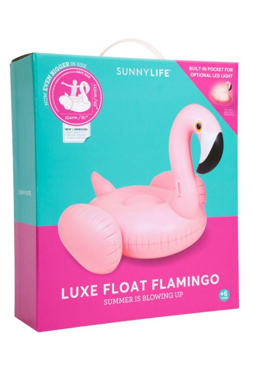 SUNNYLIFE - LUXE FLOAT FLAMINGO PINK 30421