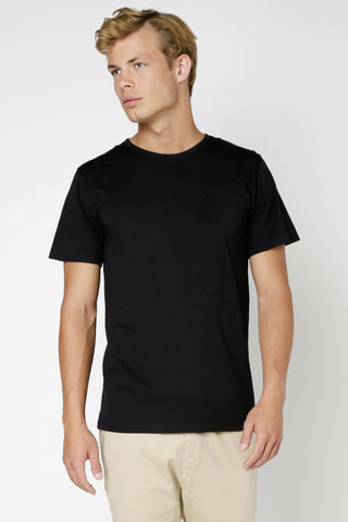 ARTICLE No. 1 - PLAIN MID SCOOP T-SHIRT BLACK 32572