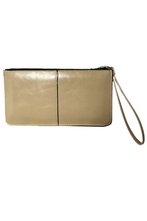 ASHA - POLLY CLUTCH BEIGE 33087