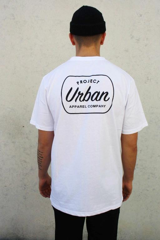 PROJECT URBAN - BLAKE TEE WHITE 32538
