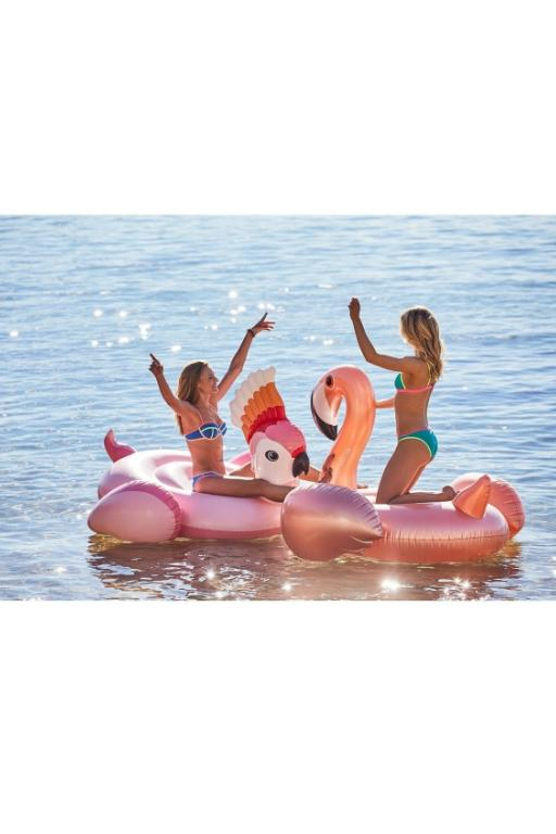 SUNNYLIFE - LUXE RIDE-ON FLOAT FLAMINGO ROSE GOLD 32551